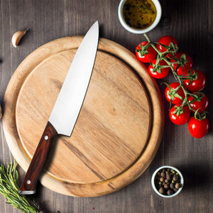 imarku 8-inch Chef Knife High Carbon Stainless Steel Japanese Knife Ultra Sharp Paring Knife