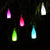 bubsolar 5 Color Cork Wine Bottle LED Solar Powered Sense Light Outdoor Hanging