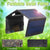 bubsolar Foldable 20W USB Solar Panel Portable Folding Waterproof Solar Panel Charger Mobile Power Battery