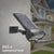 bubsolar Shark LED Solar Light PIR Motion Sensor Solar Lamp Waterproof Solar Powered Spotlights