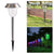 bubsolar Solar LED Garden Light Outdoor Stainless Steel Solar Pathway Lights LED Solar Powered Landscape