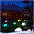 bubsolar Solar Light Lamps Cobble Stone Lamp Light LED Solar Lighting Remote Control Colorful