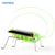 bubsolar wholesale Solar Grasshopper Insect Bug Moving Toy, Lovely funny Mini Solar toy