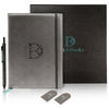 DoogleBooks® A5 Notebook Set - Premium PU Leather Hardcover Journal and Ballpoint Pen - DoogleBooks