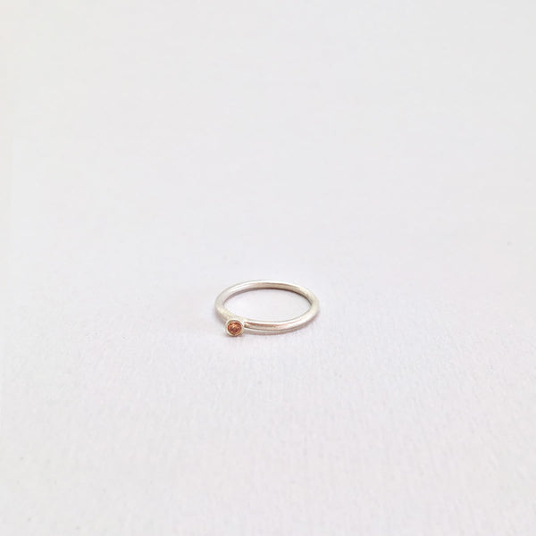 Origin Champagne Stone Ring
