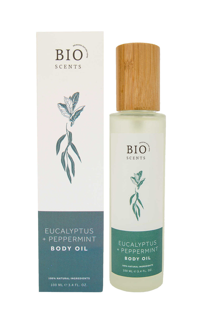 EUCALYPTUS & PEPPERMINT BODY OIL - NATURAL