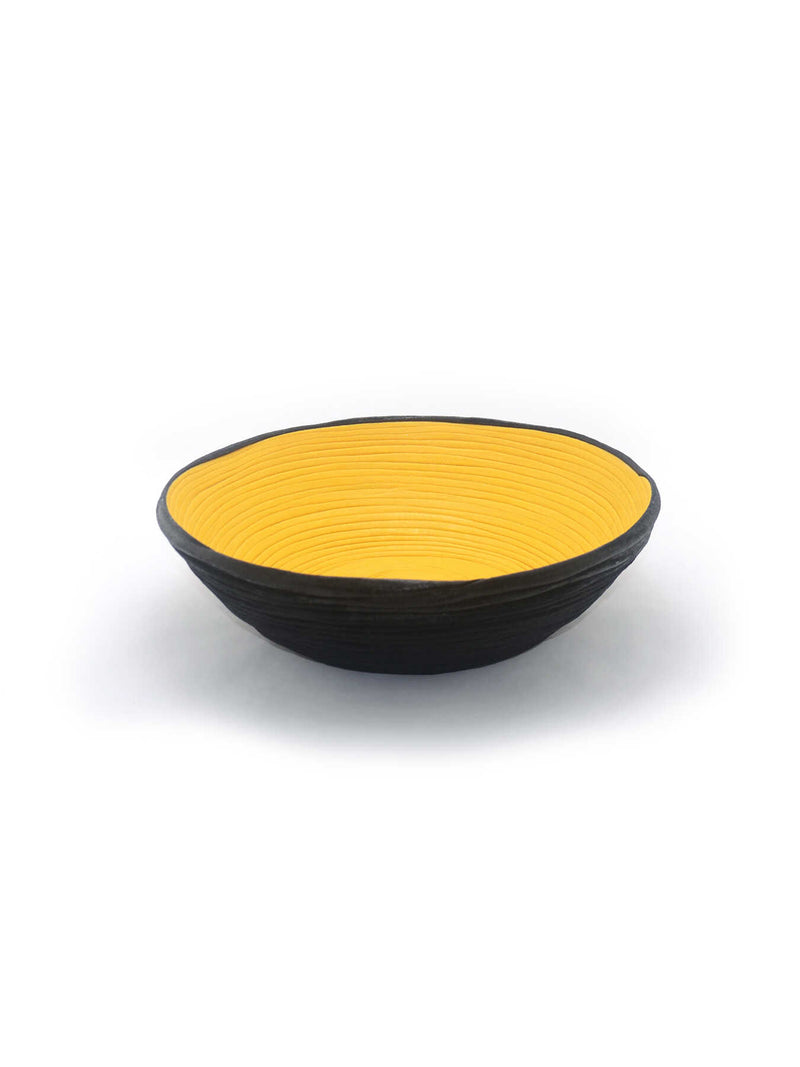 Bowl - Yellow Sunset