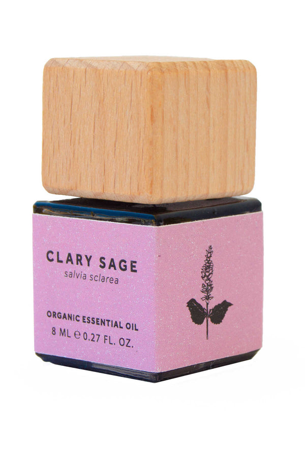 CLARY SAGE ESSENTIAL OIL - ORGANIC