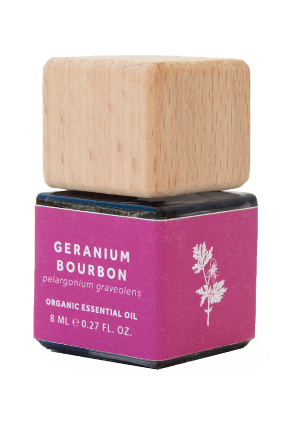 GERANIUM BOURBON ESSENTIAL OIL - ORGANIC