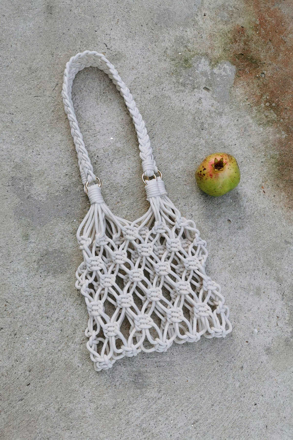 Kit Diy Macramé Bag