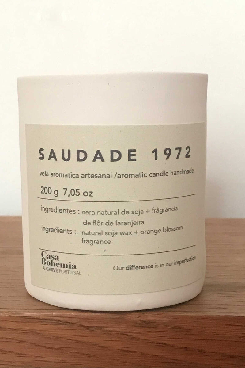 SAUDADE, Orange blossom fragrance