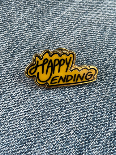 Happy Ending Enamel Pin