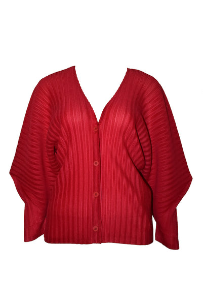 Pleated Cardigan FO333