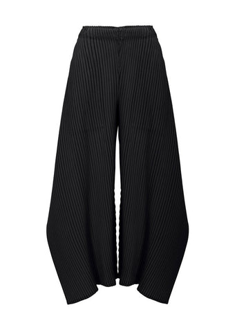 Zig-Zag Pleats Solid Pants FF175