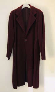 Pleated Coat FA023