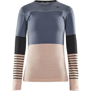 Women's | Craft Fuseknit Comfort Blocked Run Long Sleeve
