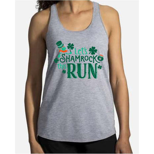 Women's | Brooks Distance Graphic Tank - Shamrock