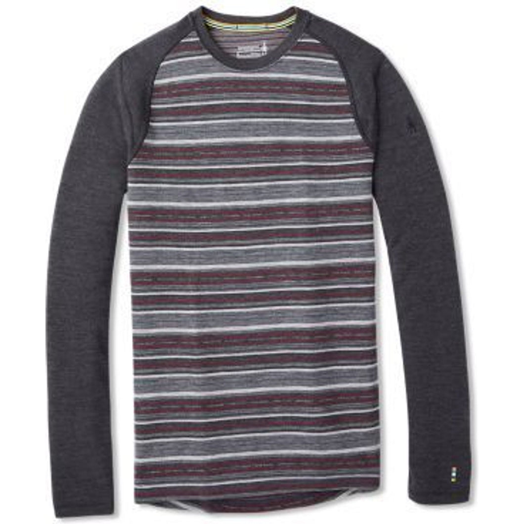 Men's | Smartwool Merino 250 Base Layer Pattern Crew