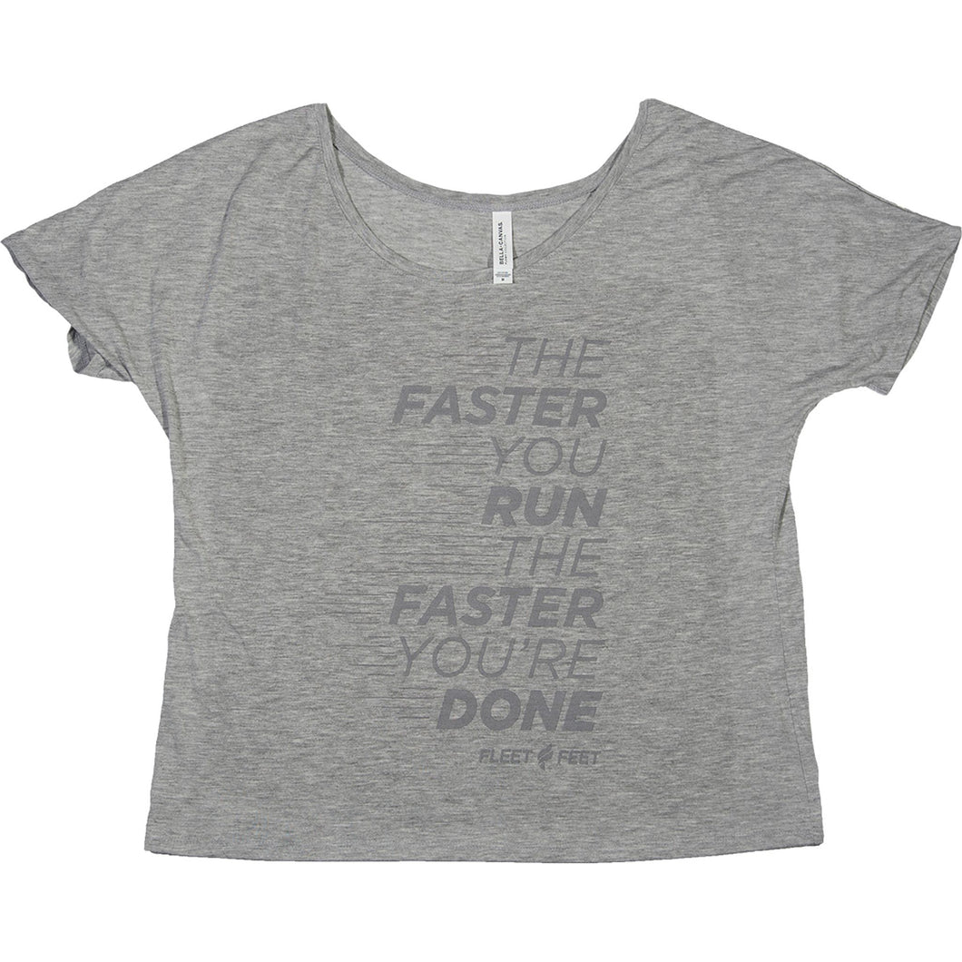 Women's | Fleet Feet Slouchy Tee