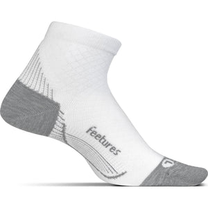 Feetures Plantar Fasciitis Relief Light Cushion Quarter Socks