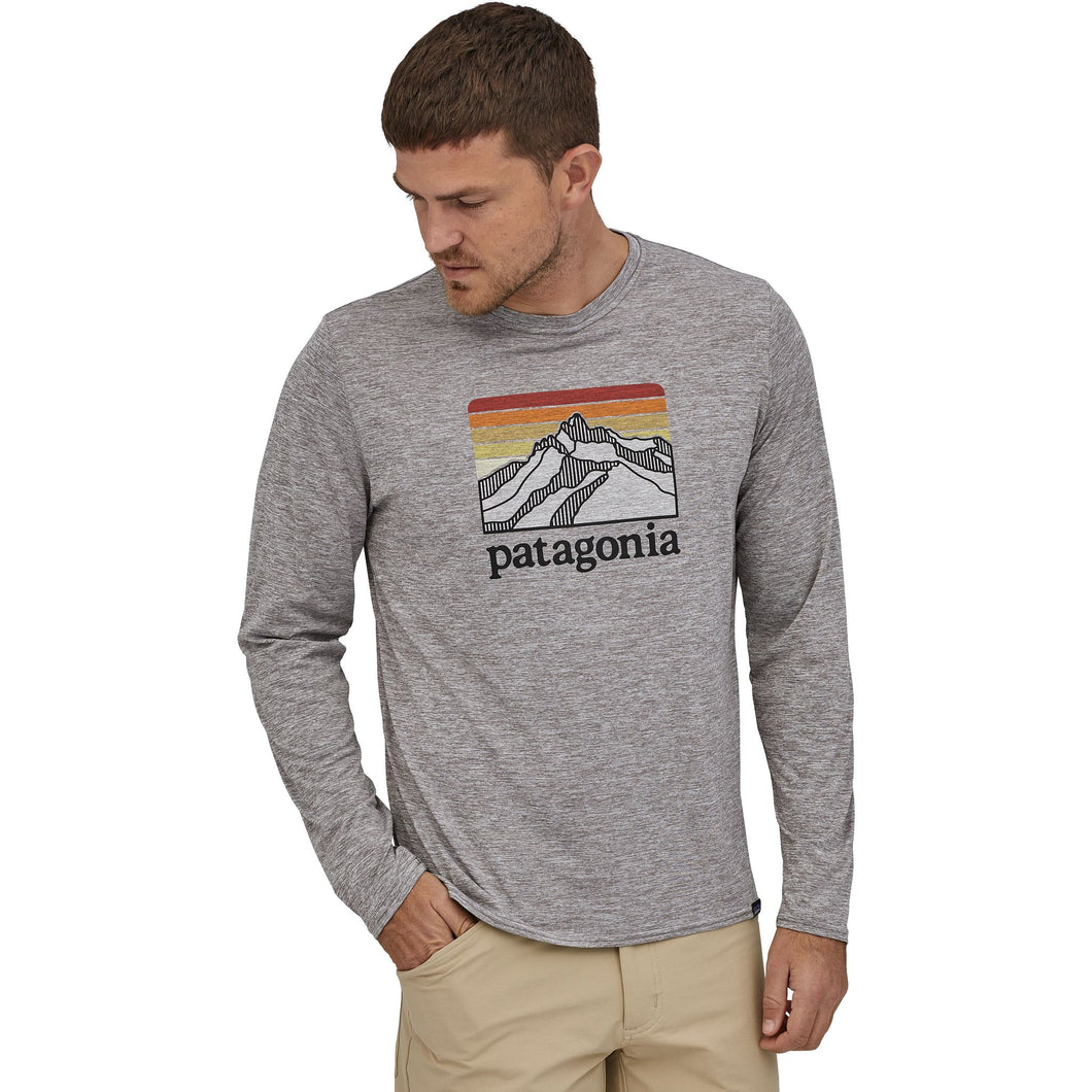 Men's | Patagonia Long-Sleeved Capilene® Cool Daily Graphic Shirt