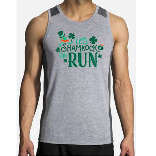 Men's | Brooks Distance Tank - Shamrock