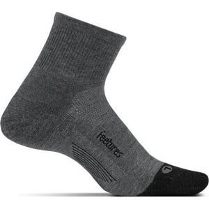 Feetures Merino 10 Cushion Quarter Sock