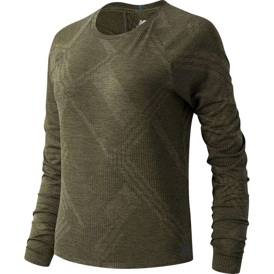 Women's | New Balance Q Speed Fuel Jacquard Long Sleeve