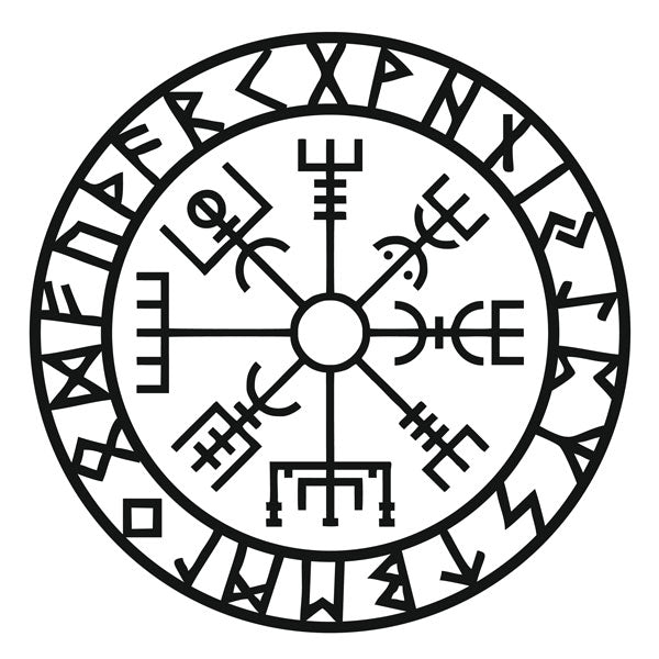 Symboles Vikings Origines et Significations Vegvisir | Viking Héritage