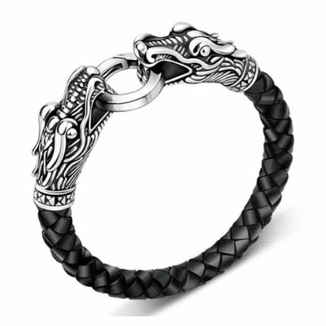 BRACELET VIKING TÊTE DE DRAGON