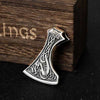 COLLIER HACHE VIKING ARGENT STERLING .925