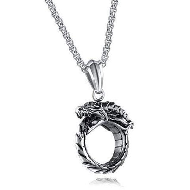 Collier Dragon Homme  | Viking Héritage