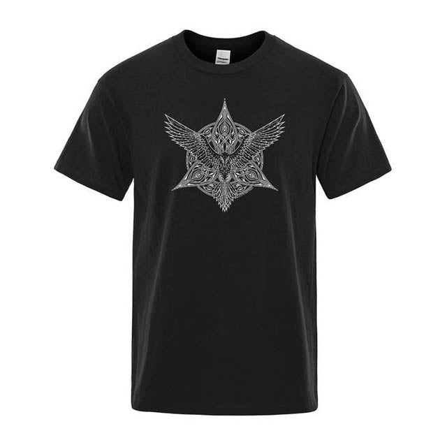 T-SHIRT VIKING HUGIN-Viking Héritage