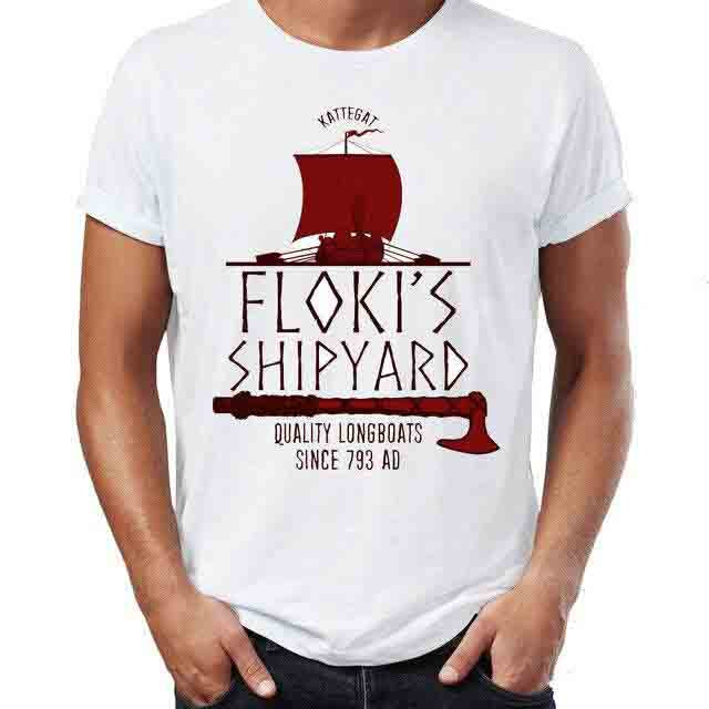 T SHIRT VIKING FLOKI