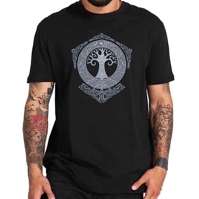 T-SHIRT VIKING YGGDRASIL