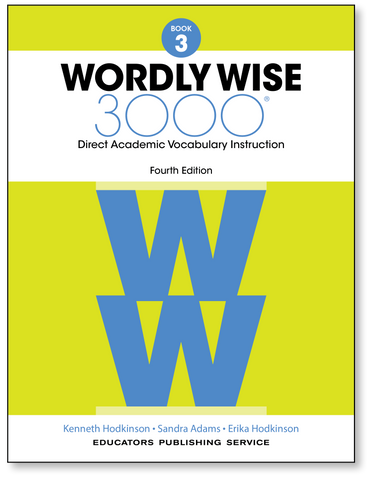 Wordly Wise 3000: Student Book 3 (4th Edition)