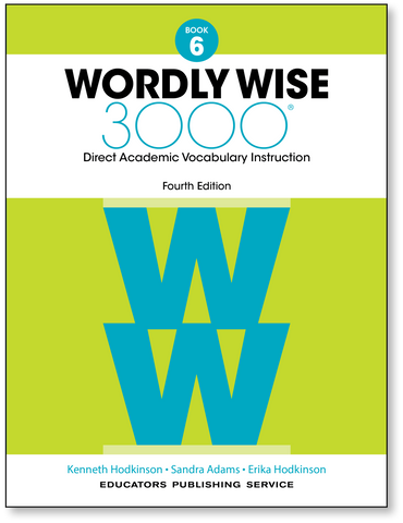 Wordly Wise 3000: Student Book 6 (4th Edition)