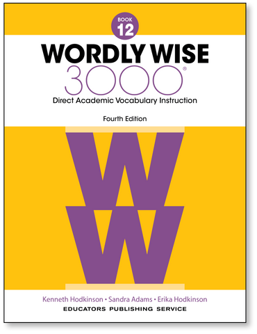 Wordly Wise 3000: Student Book 12 (4th Edition)