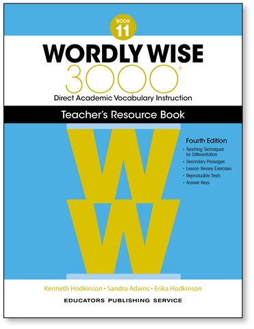 Wordly Wise 3000: Teacher's Resource Book 11 (4th Edition)