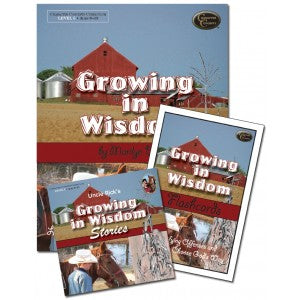 Growing in Wisdom Curriculum (Character Concepts Curriculum - Level 5)
