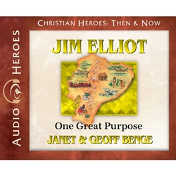 Jim Elliot: One Great Purpose (Christian Heroes Then & Now Series) (CD)