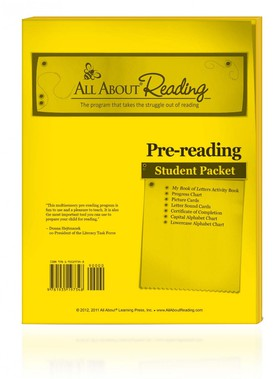 All About Reading Pre-reading: Student Packet
