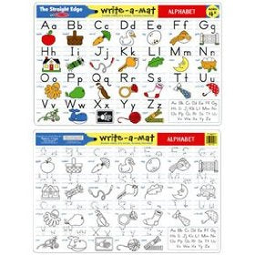 Alphabet Write-A Mat