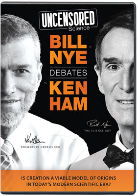 Uncensored Science: Bill Nye Debates Ken Ham (DVD)