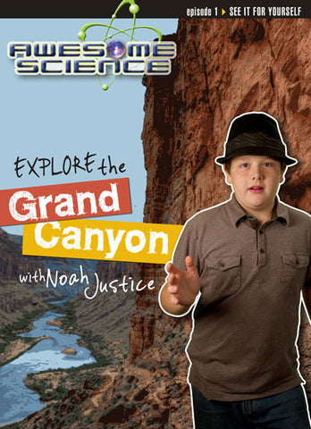 Explore the Grand Canyon with Noah Justice (DVD)