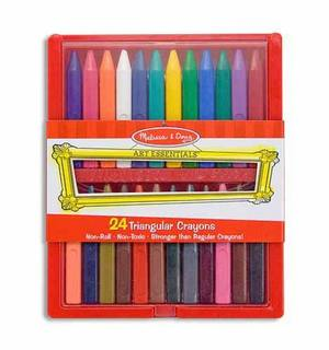 Triangular Crayon Set (24 Count)