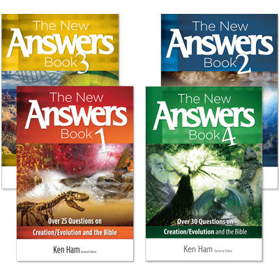 New Answers Book Set, The (4 book set)