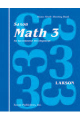 Saxon Math 3 Homeschool (1st Edition): Complete Kit