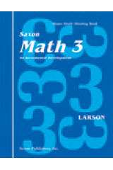 Saxon Math 3 Homeschool (1st Edition): Student Workbook Set