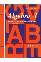 Saxon Algebra 1 (3rd Edition): Kit with Solutions Manual